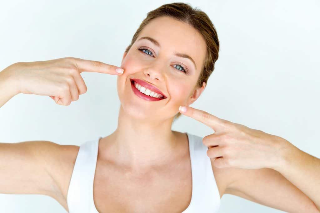 Lepi zobje